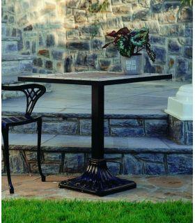 Comprar online Pie mesa de fundición Aluminio Mod. PALMERA cuadrada.