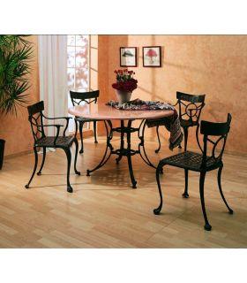Comprar online Pie mesa de fundición aluminio Mod.TOLEDO ESPECIAL.