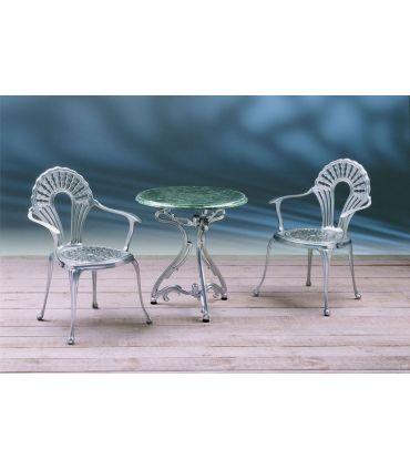 Pie mesa de fundición Aluminio Mod. ARTNOVO