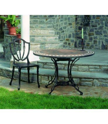 Pie mesa de fundición Aluminio Mod. GRANADA ESPECIAL.