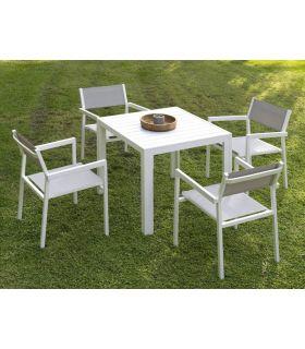 Comprar online Mesas para Jardín : Colección CALPE cuadrada