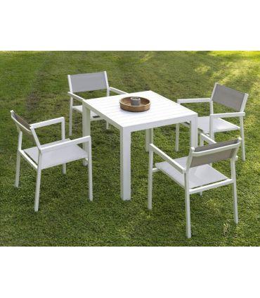 Mesas para Jardín : Colección CALPE cuadrada