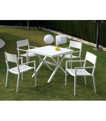 Mesas de Aluminio para exterior : Colección ESTEPONA