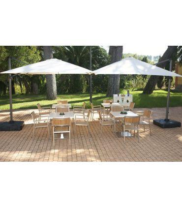Mesas de Jardín : Colección ALGAIDA cuadrada