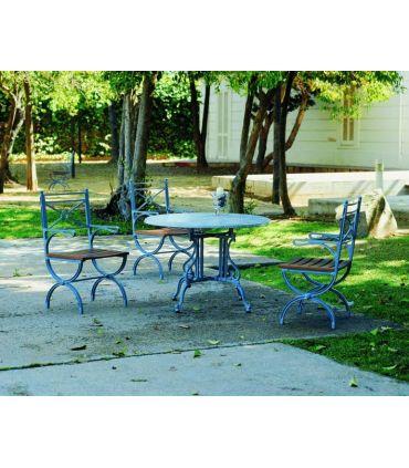 Pie mesa de fundición Aluminio Mod. LIRA ESPECIAL.