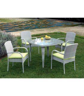 Comprar online Mesas para Jardin : Coleccion MONACO cuadrada