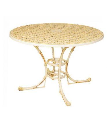 Pie mesa de fundición Aluminio Mod. FILIPINAS