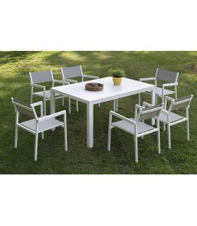 Comprar online Mesas para Jardín : Colección CALPE rectangular