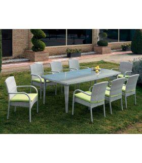 Comprar online Mesas para Jardin : Coleccion MONACO rectangular