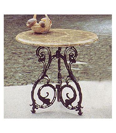 Pie mesa de fundición Aluminio Mod. SEVILLA