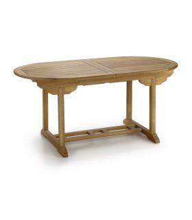 Comprar online Mesa de madera para Exterior : CLASSIC Extensible Ovalada