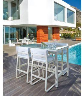 Comprar online Mesas Altas de Aluminio : Colección RITA