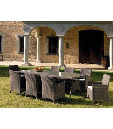 Mesas para Exterior : Colección IBIZA rectangular