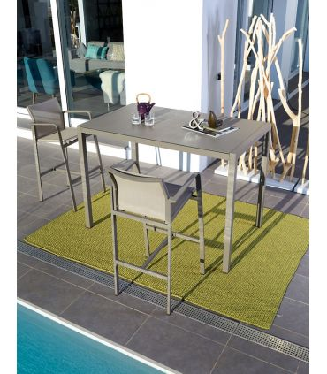 Mesa Alta de Bar para Terraza y Jardín : Modelo BYLOT