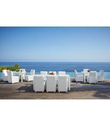 Mesa de Café para Terraza y Jardín : Colección AXIS