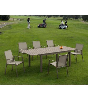Mesa Extensible de Terraza y Jardín : Modelo FARO