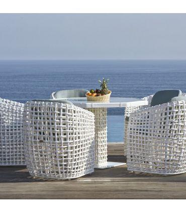 Mesa de Comedor Octogonal de Terraza y Jardín : Colección DYNASTY