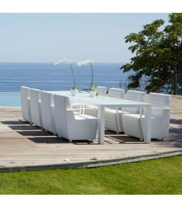 Mesa Rectangular para Terraza y Jardín : Colección AXIS