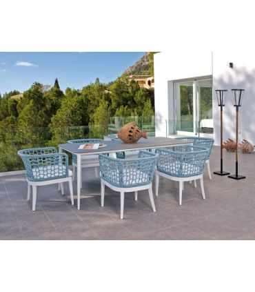 Mesa de Comedor para Terraza y Jardín : Modelo TOSCA