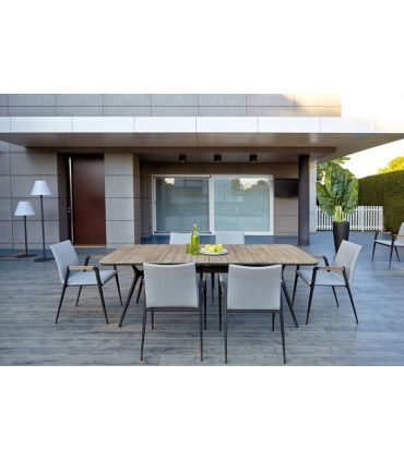 Mesa de Comedor para Terraza y Jardín : Modelo RAUNG