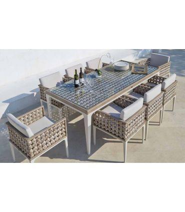 Mesa de Comedor para Terraza y Jardín : Colección HEART