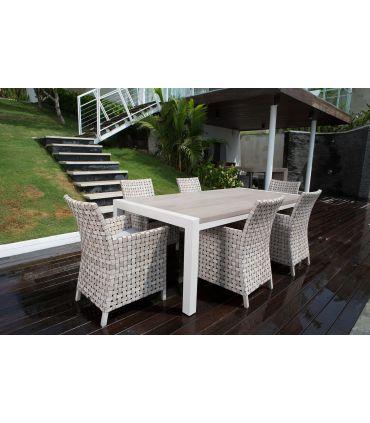 Mesa de Terraza y Jardín : Modelo MARYLAND