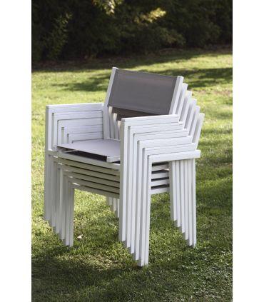 Sillones de Aluminio y Textiline : Coleccion CALPE