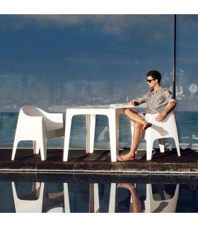 Comprar online Set de 4 Sillones de Diseño para Exterior : Colección SOLID