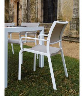 Comprar online Sillones Apilables de Aluminio : Coleccion MALENA