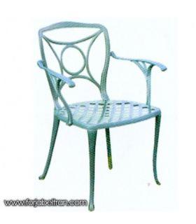 Silla o sillón de fundición Aluminio Mod. ATLANTA