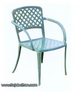 Silla y sillón de fundición Aluminio Mod. DIANA