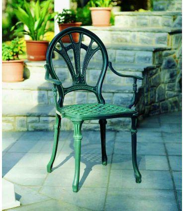 Silla y sillón de fundición Aluminio Mod. WINDSOR