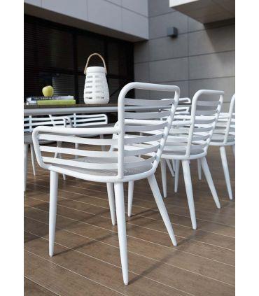Sillón de Aluminio para Terraza y Jardín : Modelo EDELWEISE