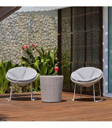 Silla de Terraza y Jardín en Rattan : Modelo LUNA