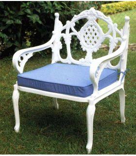 Comprar online Sofa de fundición Alumino 1 plaza Mod. FLORIDA