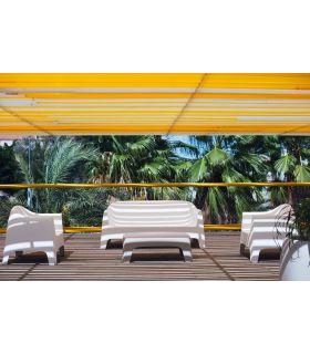 Comprar online Set de 4 Sofas de Diseño para Exterior : Colección SOLID Vondom