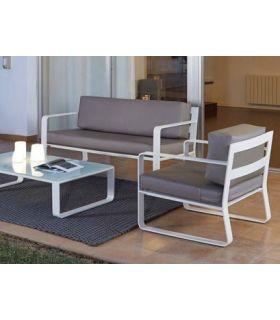 Comprar online Sofás de Aluminio de 2 plazas : Colección RITA