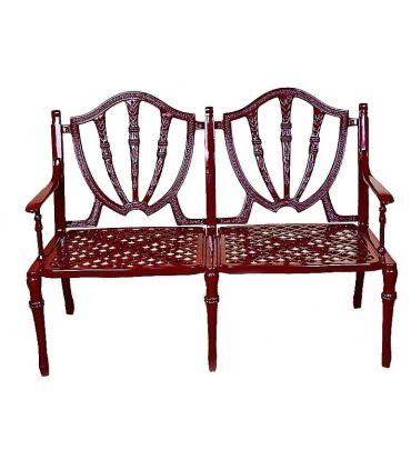 Sofa de fundición Aluminio Mod. GALES.