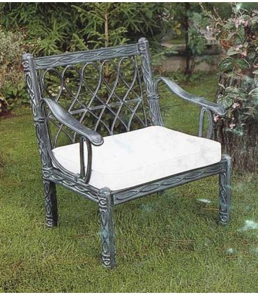 Sofa de fundición Aluminio Mod. MIAMI