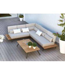 Comprar online Sofás Modulares de Aluminio y Teka : Colección CALCUTA