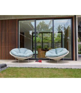 Sillón de Terraza y Jardín en Rattan : Modelo LUNA