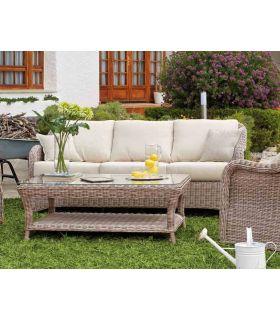 Comprar online Sofas de Rattan para Terraza y Jardin : Coleccion ROMANA