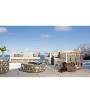 Sofá 3 Plazas de Terraza y Jardín : Colección STRIPS