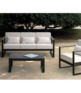 Comprar online Mesa de centro de Aluminio : Colección MARBELLA