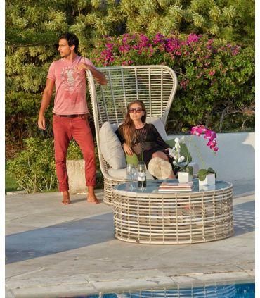 Mesas Auxiliares de Terraza y Jardín : Colección DRONE