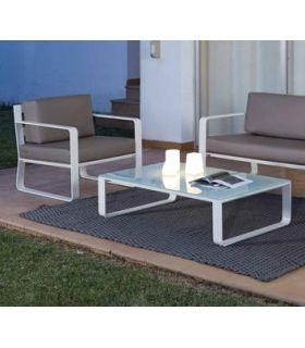 Comprar online Mesa de centro de Aluminio : Colección RITA