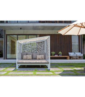 Comprar online Sofá DAYBED de Aluminio y Rattan : Modelo GEOMETRIC