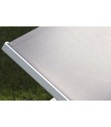 Tumbonas de Aluminio y Textiline : Colección CALPE
