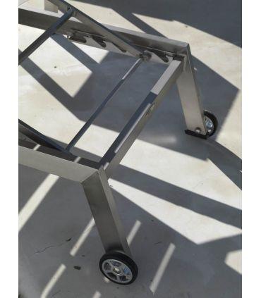 Tumbonas de Aluminio y Madera : Colección ALGAIDA