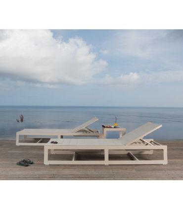 Tumbona para Terraza y Jardín : Colección RHONE